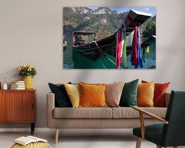 Longtail boot in Thailand van Studio de Waay