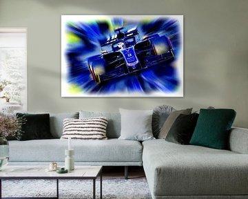 Romain Grosjean #8  Season 2019 van Jean-Louis Glineur alias DeVerviers
