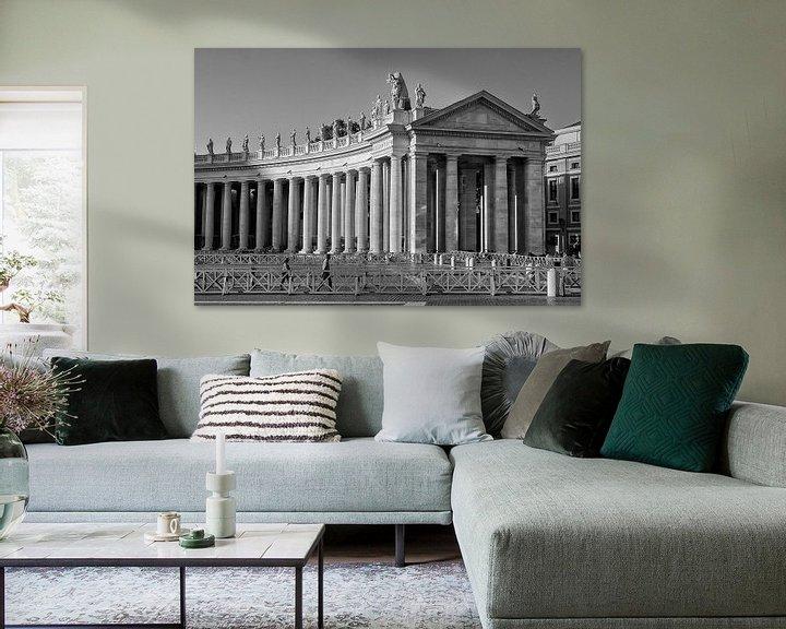 Sfeerimpressie: Sint Pietersplein van Eus Driessen