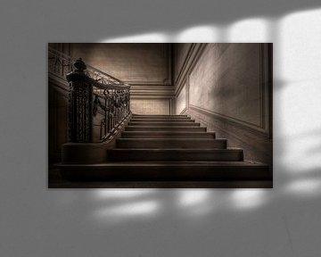 Verlaten trap van Kristof Ven