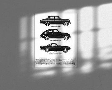 Volvo advertentie 1963 van Jaap Ros