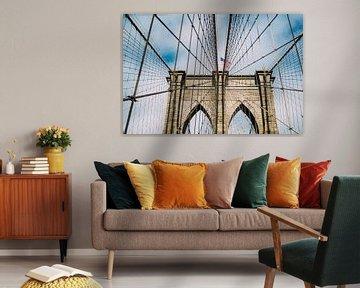 Brooklyn Bridge von Patrycja Polechonska
