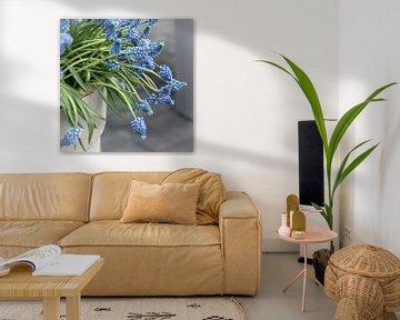 Blaue Traubenhyazinthe von Jefra Creations