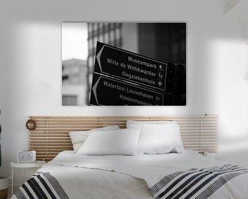 Die Pixel-Ecke - Wegweiser Rotterdam von The Pixel Corner