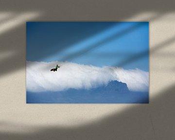 In de wolken. von Jan van Woerden