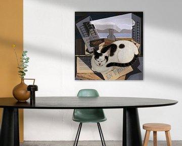Cat Nap von Marja van den Hurk