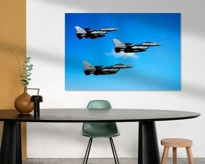 Sfeerimpressie: F-16 Fighting Falcons, Nederland van Gert Hilbink