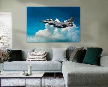 F-16 Fighting Falcon 2-seater von Gert Hilbink