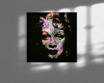 Motv Marlene Dietrich - 01 Old School - Dadaismus Nonsens von Felix von Altersheim