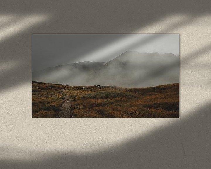 Beispiel: Über den Wolken von Paulien van der Werf