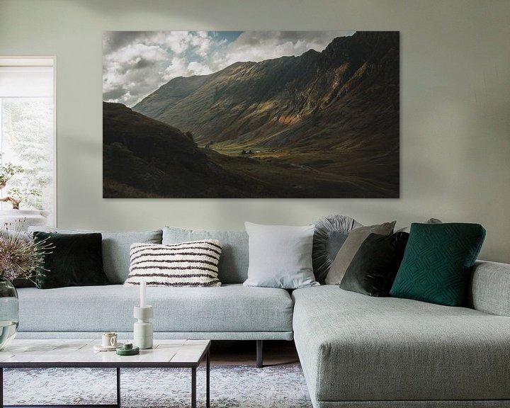 Beispiel: Glencoe Valley von Paulien van der Werf
