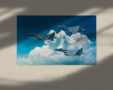 McDonnell Douglas F-15 Eagle von Gert Hilbink