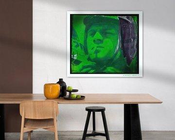 Motiv Steve Porträt Mc Queen - Frame 02 von Felix von Altersheim
