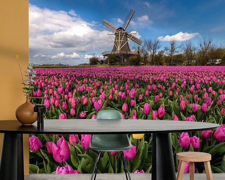Beispiel fototapete: Springtime in the Netherlands von Costas Ganasos