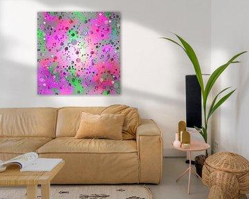 Abstract colorful van Violetta Honkisz
