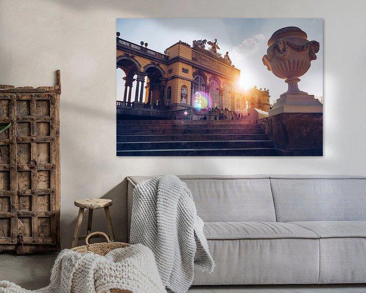 Sfeerimpressie: Vienna - Gloriette / Schonbrunn Palace van Alexander Voss