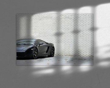 Lamborghini Gallardo in Schwarz von Sjoerd van der Wal