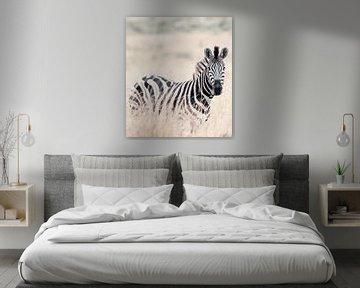 Zebra von Hennie Zeij