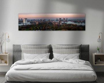 Rotterdam sunset Panorama von Joey Hohage