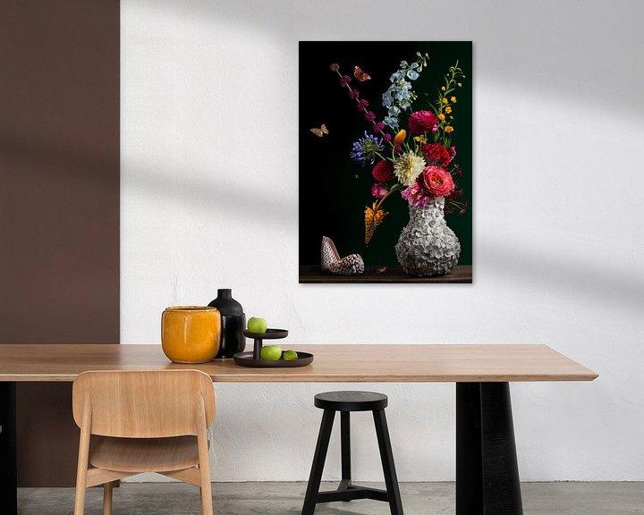 Sfeerimpressie: Stilleven Bloemen Balthasar van der Ast van Sander Van Laar