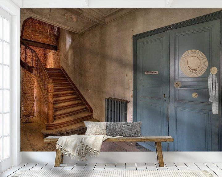 Beispiel fototapete: Die Treppe der Ingenieurschule von Wesley Van Vijfeijken