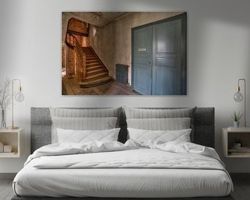 Die Treppe der Ingenieurschule von Wesley Van Vijfeijken
