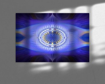 Twirl Creation - blue and lila
