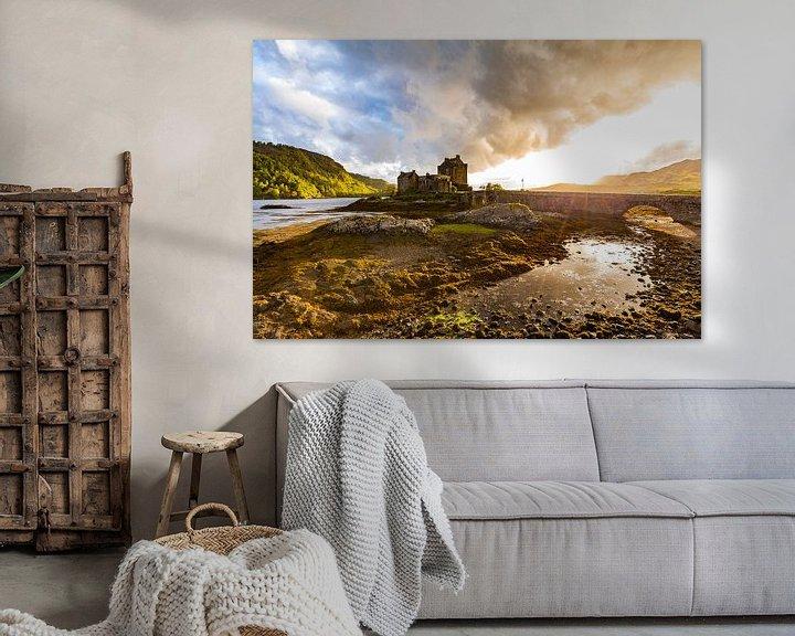 Beispiel: Eilean Donan Castle in Schottland von Werner Dieterich