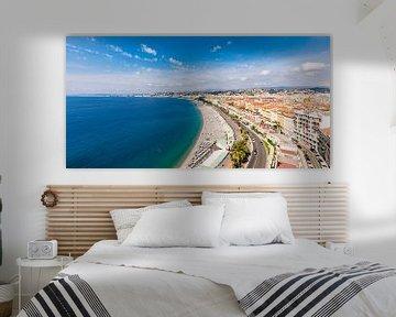 Nizza an der Côte d'Azur in Frankreich von Werner Dieterich