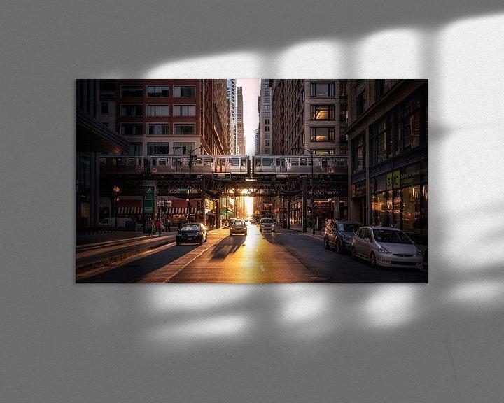 Sfeerimpressie: Chicago van Photo Wall Decoration
