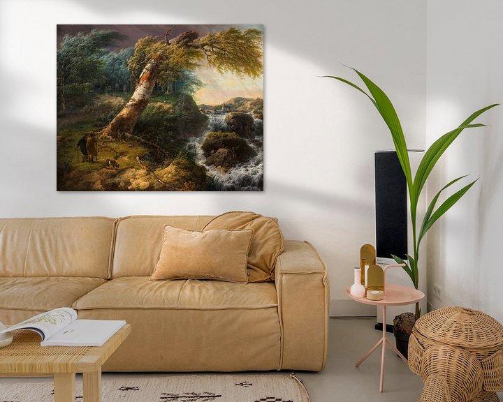 Beispiel: Stürmische Landschaft, Gerard van Nijmegen