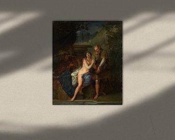 Susanna und die beiden Alten, Nicolas Bertin