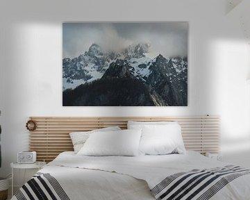 Abend in den Alpen von Paulien van der Werf