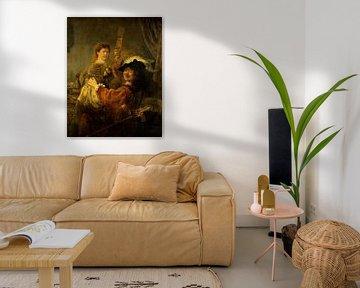 Der verlorene Sohn (Selbstbildniss im Wirtshaus), Rembrandt van Rijn