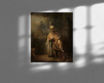 David und Jonathan, Rembrandt van Rijn