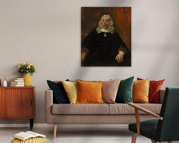Porträt eines blonden Mannes, Rembrandt van Rijn