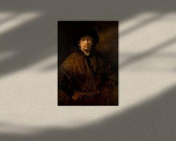 Großes Selbstbildnis, Rembrandt