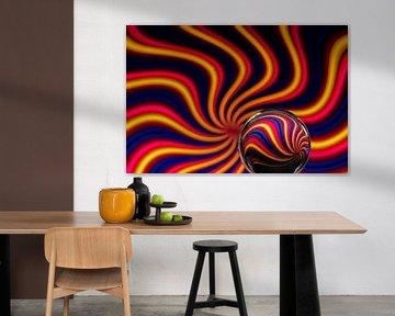 Kleur bekennen - Abstract von Fotostudio 075