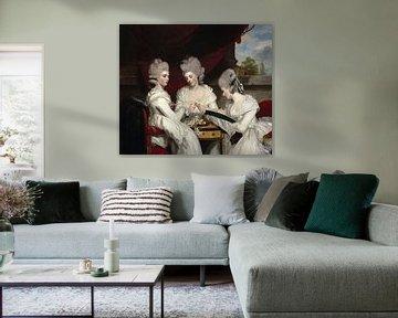 Die Ladies Waldegrave , Joshua Reynolds