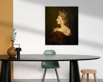 Porträt einer Frau (Mrs. James Fox), Joshua Reynolds.