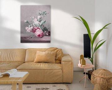 Blumen Stillleben Klassisch Trifft Modern von Andrea Haase