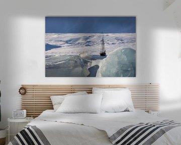 Zeilboot voor Spitsbergen van Marieke Funke