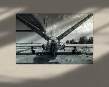 verlaten vliegtuig van Kristof Ven