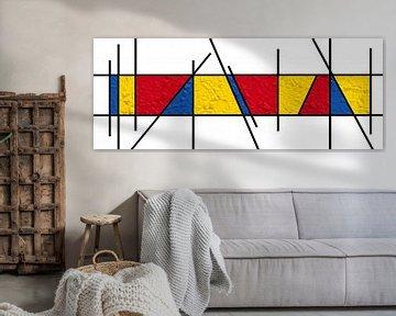 Piet Mondrian Art-Papier von Marion Tenbergen