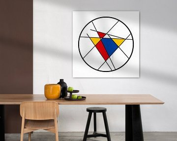 Piet Mondrian Art Rund