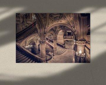 die Opéra Garnier von Kristof Ven