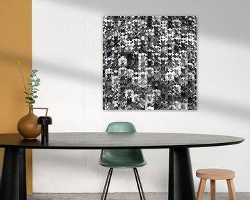 Chrome Cube Crosses van Jörg Hausmann