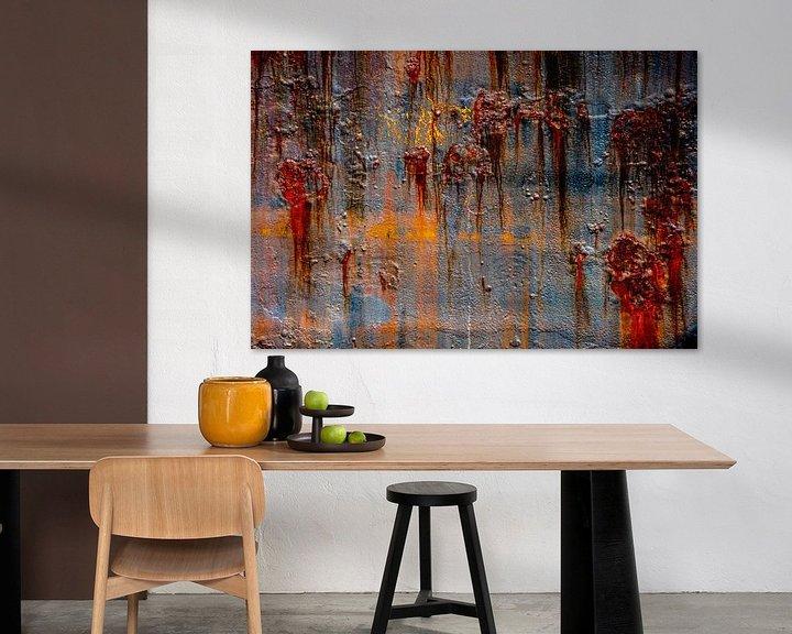 Beispiel: Rostige abstrakte von Leo Luijten