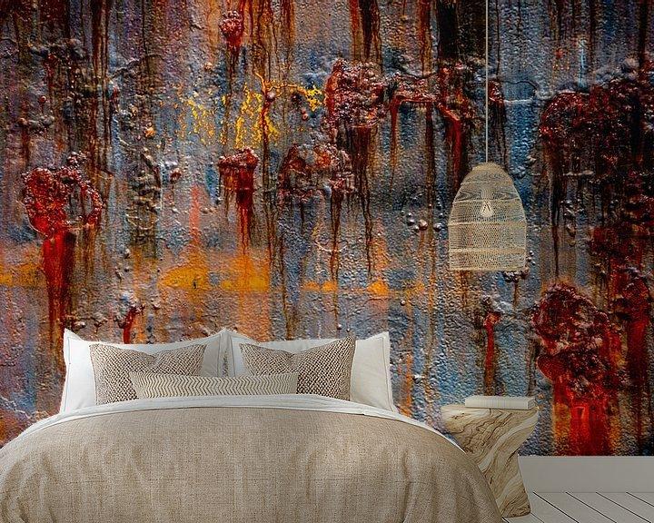 Beispiel fototapete: Rostige abstrakte von Leo Luijten