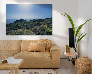 Landschaft auf La Palma in der Nähe von El Faro von Rob van der Pijll